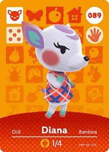 Diana NFC Amiibo Card Animal Crossing