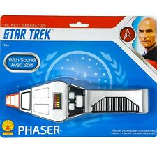 Star Trek TNG The Next Generation PHASER Prop Replica with Sound Rubies NEW
