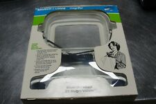 Bausch & Lomb Sight Saver Magni-Viewer Hands Free 2X Magnifier Around the neck