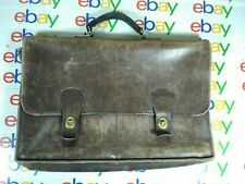 Vintage 70's COACH Musette Bag, Brown Tan Made in New York City Large Distressed