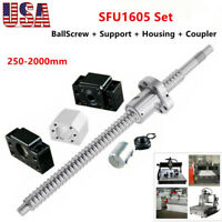 RM1605 BallScrew SFU1605 End Machine + Support BK/BF12 + Housing + Coupler CNC