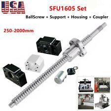 Rm1605 Ballscrew Sfu1605 End Machine Support Bkbf12 Housing Coupler Cnc