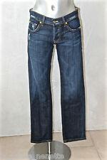 joli jeans stretch femme RICH & SKINNY twilight vtg TAILLE 36 (W25)