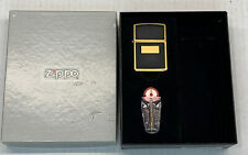 Zippo 1997 Black Elegance With Gift Box Niagara's Falls Canada Zippo Rare! Bill