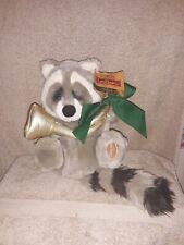 Dakin Applause Lou Rankin SAMMY THE RACCOON Friends Plush Stuffed Animal  RARE
