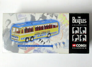 The Beatles Magical Mystery Tour Bus Figure 1997 Corgi Classics Apple Corps Rare