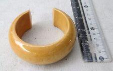HANDMADE Karen Hill Tribe Golden Teak Wood Bangle Bracelet (Natural)