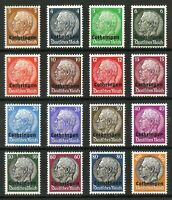 DR Nazi 3d Reich Rare WW2 Stamp Hindenburg Medalion Lothringen Overprint Classic