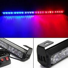 12V 24 LED Car Roof Magnetic Emergency Warning Light Strobe Light Blue Red