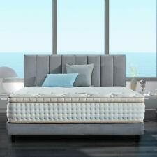 BedStory 12in Queen Bed Mattress Gel Infused Memory Foam Mattress Pocket Coil