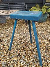 Fantastic Rustic Antique Stool Original Paint Primitive