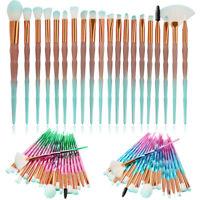 20PCS Unicorn Diamond Makeup Brushes Set Foundation Powder Eye Shadow Brush Tool