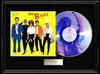 THE B52'S SELF TITLED WHITE GOLD SILVER PLATINUM TONE RECORD LP  RARE NON RIAA