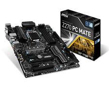 BB S0208161 Motherboard MSI Z270 PC Mate ATX Lga1151