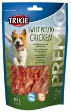 Pet Dog Puppy Treats Snack Food Sweet Potato Chicken - 100 g by TRIXIE