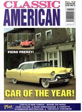 CLASSIC AMERICAN CARS Magazine. #58 Feb 1996 - 1955 Cadillac Sportsman Coupe