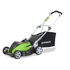 "Greenworks 40V G-MAX Li-Ion 19"" 3-in-1 Lawn Mower (BT) 2501302 New"