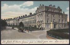 Portsmouth. Stokes Bay. The Crescent, Stokes Bay. 1907 FGO Stuart Postcard #1188