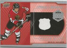 2015-16 Upper Deck A PIECE OF HISTORY 1000 POINT CLUB JERSEY DENIS SAVARD
