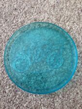 Vintage Retro Blue Plastic Drinks Coaster Car 1903 Wolseley