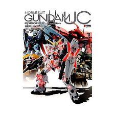 Gundam UC 3D & Analytics Art Book Episode 2-4 Japanese Model Kit Book