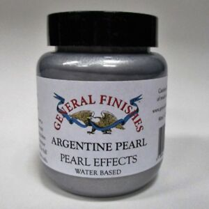 General Finishes Water Based Pearl Effects - Varnish stain Metallic Finish  90ml