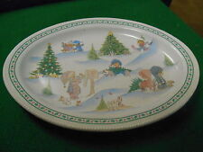 """Great Collectable PRECIOUS MOMENTS Platter """"Enesco Signature Stories"""".....SALE"""