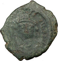 Justin II 565AD Ancient Genuine Authentic BYZANTINE  Coin  i17723