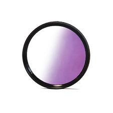 Verlaufsfilter Farbfilter Lila  Verlauffilter Gradual  Violett + Filterbox 49mm