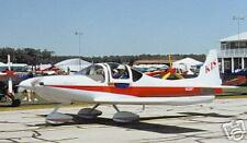 Sport 150 KIS Pulsar Private Airplane Wood Model Small