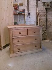 PINE FURNITURE ASHBOURNE SPECIAL LIMITED OFFER 2+2 DRAWER CHEST NO FLAT PACK