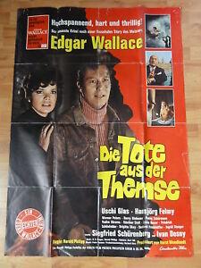 Edgar Wallace DIE TOTE AUS DER THEMSE A0 Plakat