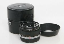 Olympus Zuiko Auto-W 28mm f3.5 Wide Angle Lens with case & hood
