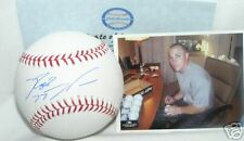 Reggie Willits La Angels Signed Baseball w/picture