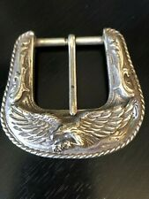 Frame and Prong Type Buckle Featuring Eagle R.O.C. Taiwan 1993 Detailed