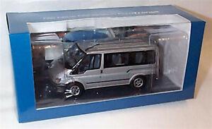 Ford Transit Mk5 Eurolines Mini Bus Silver 1-43 Scale Minichamps New in Box