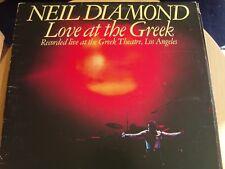 NEIL DIAMOND * LOVE AT THE GREEK * LP VINYL *CBS 2 RECORDS SET * (95001) 1977