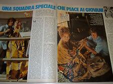 MICHAEL COLE PAULA KELLY clipping articolo foto photo 1977 PETE COCHRAN