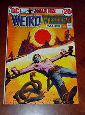 WEIRD WESTERN TALES #14 NM- (9.2) cond. JONAH HEX Tony De Zuniga, Alex Toth art