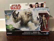 Star Wars Force Link 2.0 Wampa and Hoth Luke Skywalker