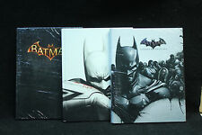 Batman Arkham City, Arkham Knight and Arkham Origins Collectors Edition Guides