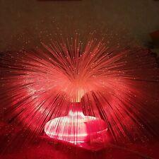 Vintage 1980s Rare Soviet large and spectacular fiber optic night light.