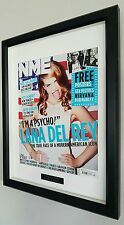 Lana Del Rey Framed Original NME-Plaque-Certificate-NEW-VERY RARE-Collectable