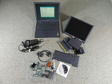 "HP Omnibook 4150 Laptop 14.1"" 512MB 40GB w EXTRAS LCD Battery Charger Keyboard"