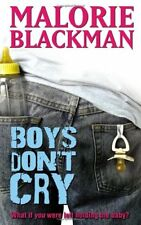 Boys Don't Cry,Malorie Blackman- 9780385619301