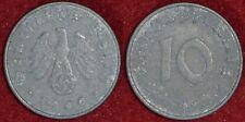 GERMANY Deutschland Allemagne 10 pfennig 1940A
