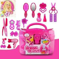 Cute Pricess Makeup Set Hairdressing Kids Girls Play House Simulation Toy O9M2