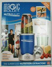 Magic Bullet NutriBullet Sport Edition Nutrition Extractor Blender Set Blue