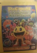 PACMAN AND THE GHOSTLY ADVENTURES X50 STICKERS