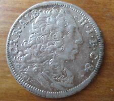 Silber 30 Kreuzer 1/2 Gulden Bayern Carl Albrech 1732 ERHALTUNG !! ANSCHAUEN !!!